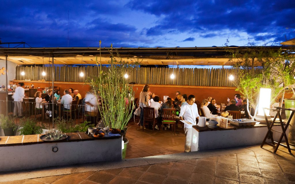 Restaurants of Oaxaca Mexico