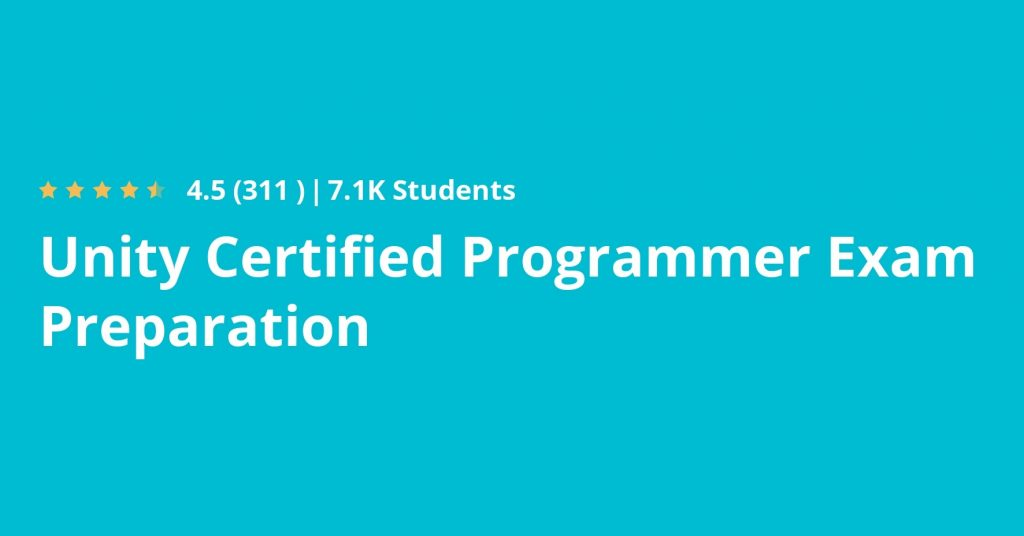 Become a Unity-Certified Professional Game Developer